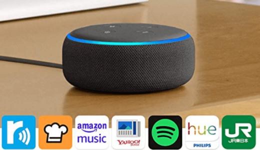 【最新】Amazon Echoで鉄板のおすすめAlexaスキルをジャンル別にまとめ