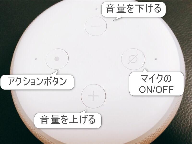 ECHOのボタン