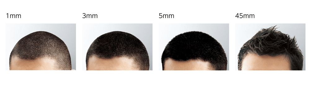 1mm・3mm・5mm・45mm