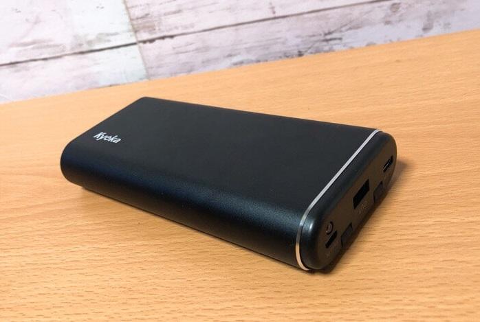 kyokaモバイルバッテリーは大容量の24000mAh