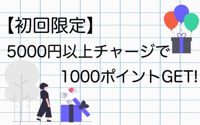 Amazonギフト券1000円もらえるキャンペーン