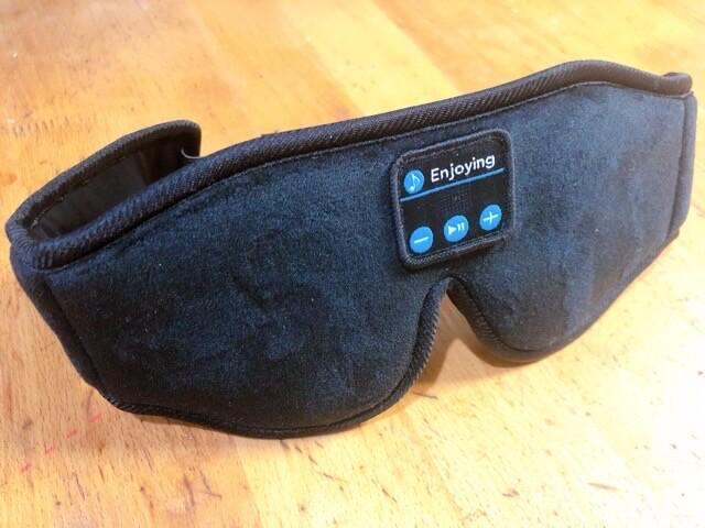 アイマスク 安眠 Bluetooth5.0 音楽機能 3D立体型 アイマスク