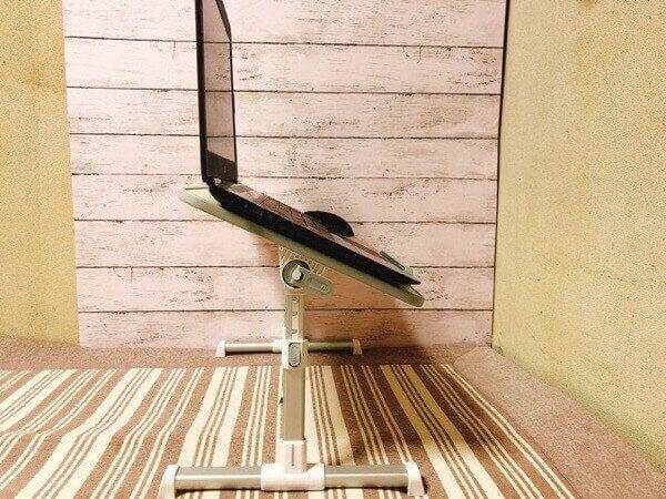 NEARPOW 【改良版】 折りたたみ式 ノートパソコンスタンド ベッドテーブル