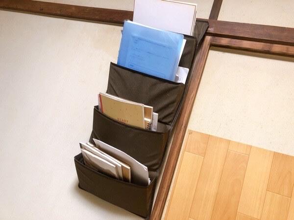 NKTM ウォールポケット ドアハンガーポケット 壁掛け 小物 収納ポケット 4段 ドア掛け