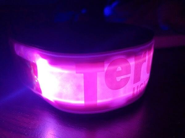 [Terui Lights Osaka] LED 蛍光 セーフティ反射バンド