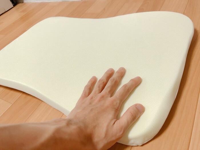 ニトリ 高さが10ヵ所調整できる枕の【高さ調整箇所とやり方】3