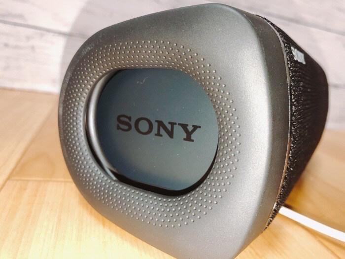 ソニー ワイヤレスポータブルスピーカー SRS-XB33の付属品やサイズ感3
