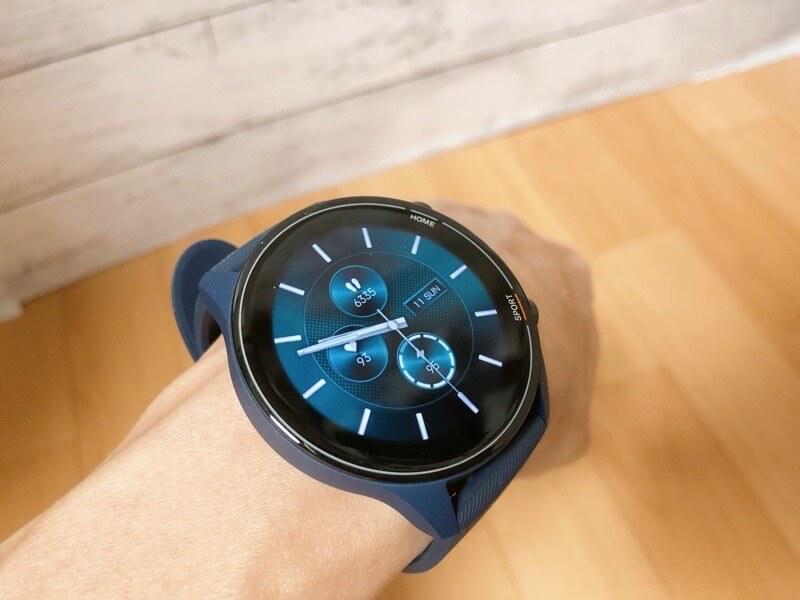 Mi Watchのウォッチフェイスをカスタムして仕事用に合うデザインに変更