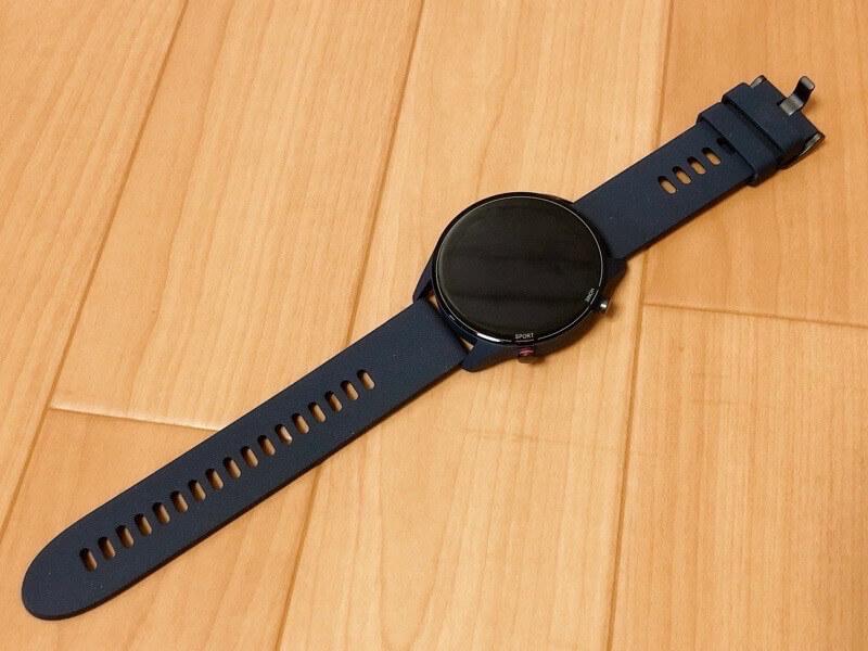 Mi Watchの本体と付属品をレビュー3